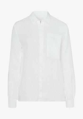 STYLE VIVIAN - Button-down blouse - white