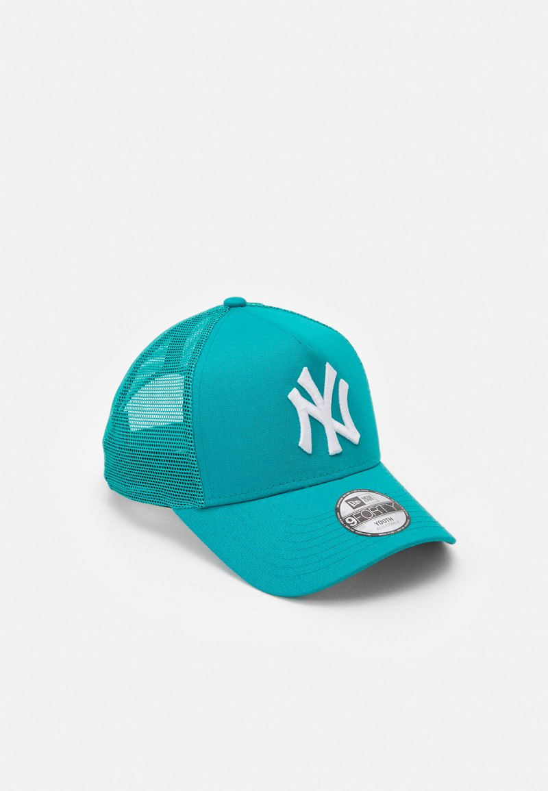 New Era - TONAL TRUCKER NEW YORK YANKEES UNISEX - Pet - petrol
