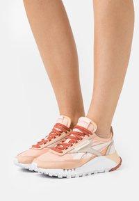 Reebok Classic - CL LEGACY - Trainers - cerise pink/orange/white - 0