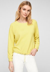 s.Oliver - Long sleeved top - light yellow - 0