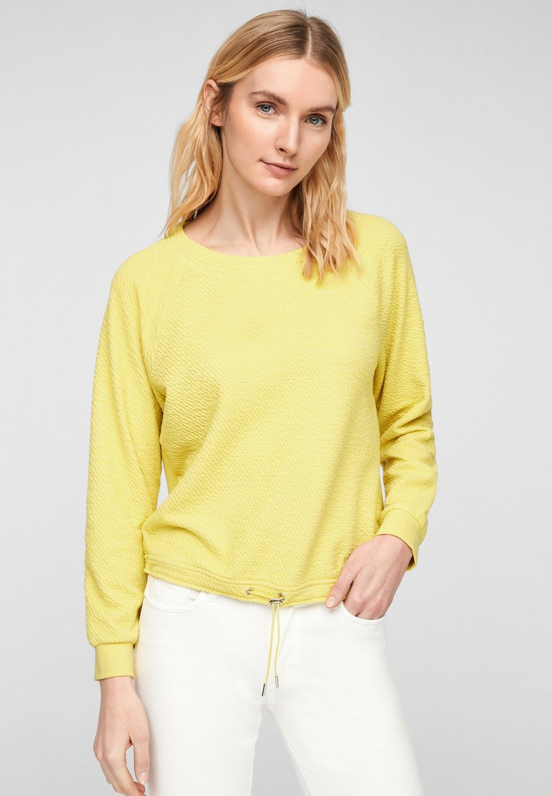 s.Oliver - Long sleeved top - light yellow