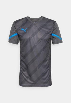 INDIVIDUALCUP - Print T-shirt - bluemazing/asphalt