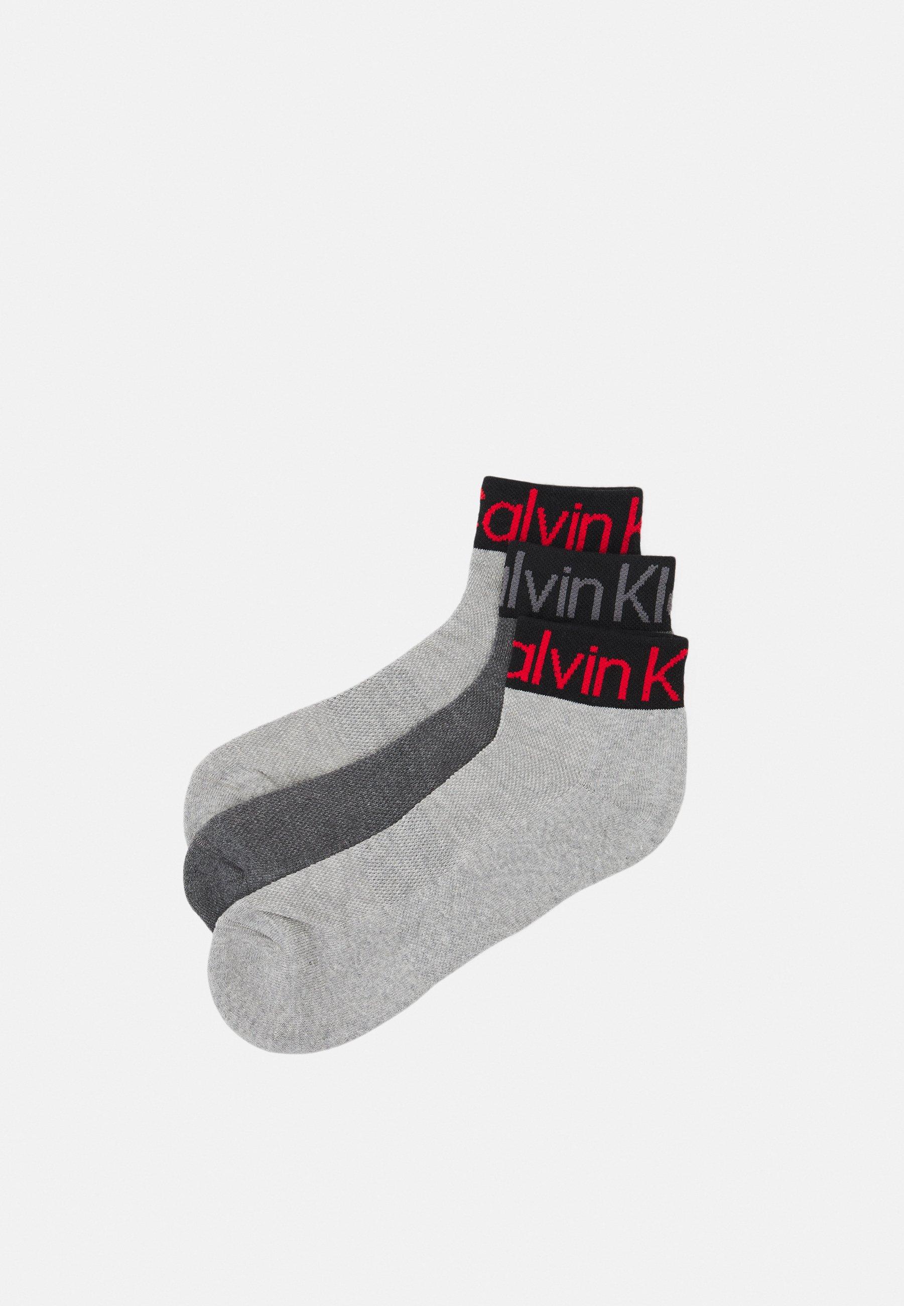 Women QUARTER LOGO WELT 3 PACK UNISEX - Socks