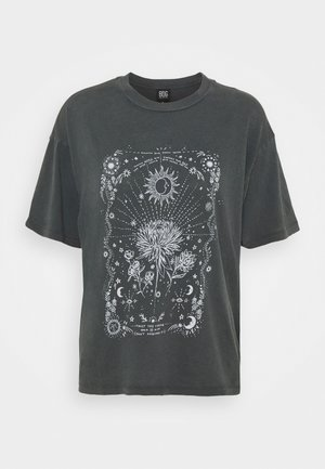 EMBRACE THE PACE  - Print T-shirt - grey