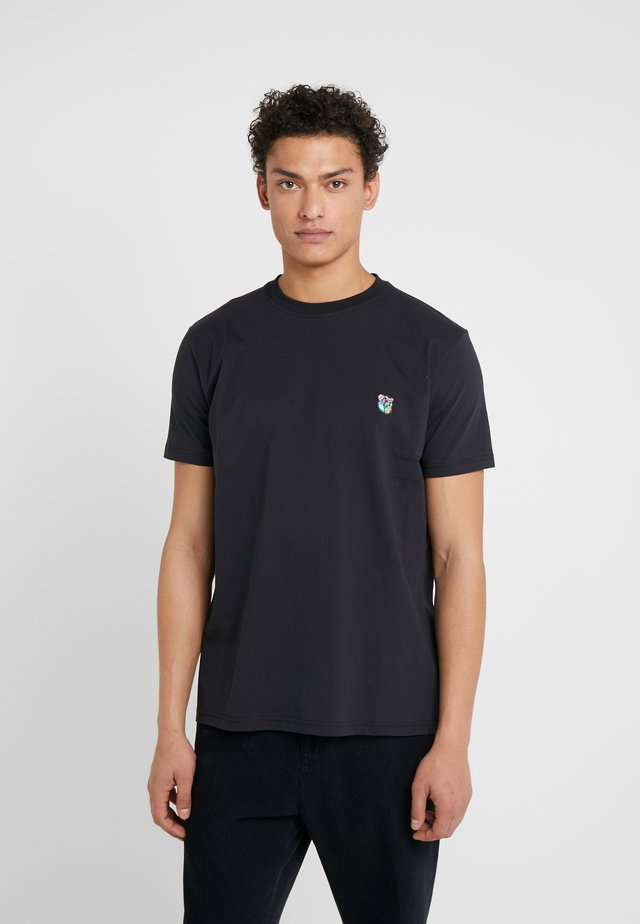 FRANK - Basic T-shirt - black