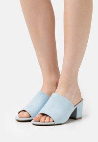 Even&Odd - Heeled mules - blue - 0