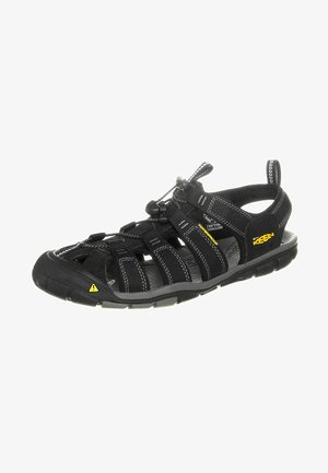 CLEARWATER CNX - Walking sandals - black/gargoyle