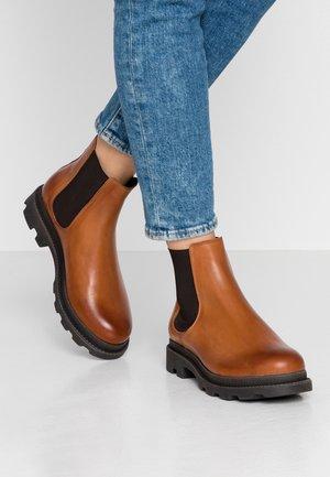 BIACYAN CHELSEA BOOT - Classic ankle boots - cognac