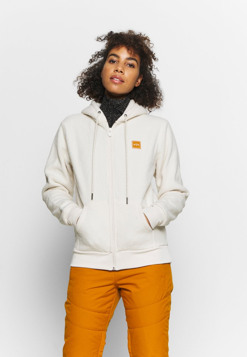 Billabong - SATURDAY - Fleece jacket - white cap