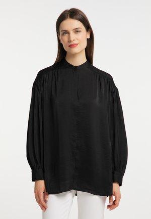 OVERSIZE - Bluzka - schwarz