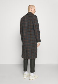 Another Influence - BLAKE LONGLINE CASUAL OVERCOAT - Classic coat - charcoal - 0
