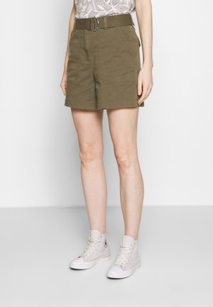 COTTON TWILL  - Shorts - army green