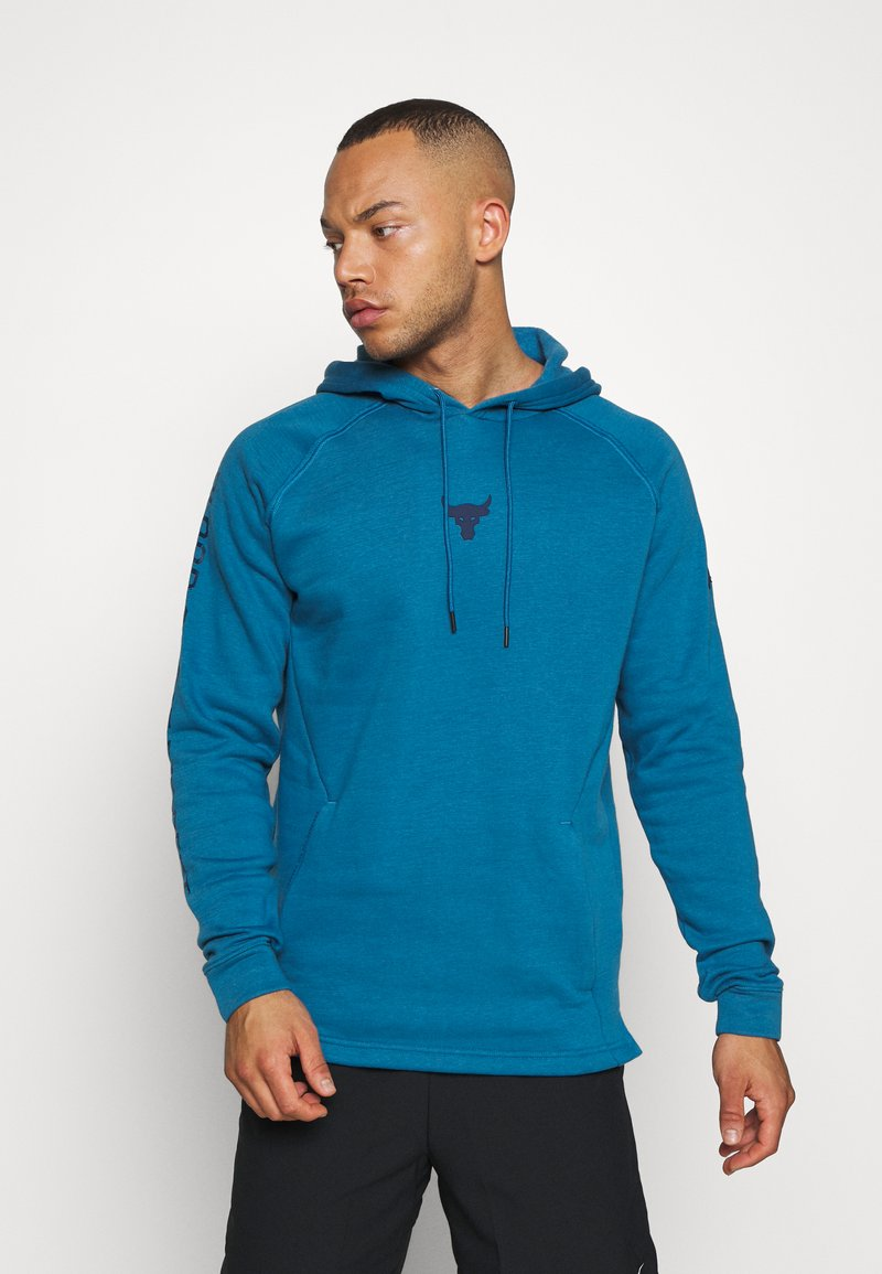 Under Armour - HOODIE - Mikina s kapucí - acadia