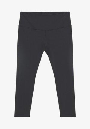 THE YOGA LUXE 7/8 PLUS - Leggings - black/smoke grey