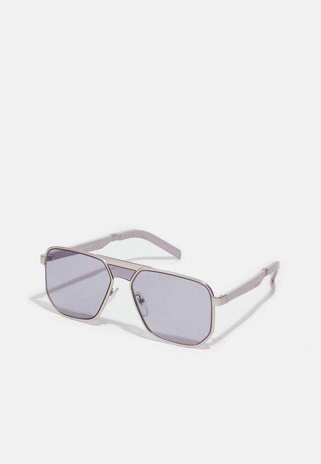 Sluneční brýle - matte silver-coloured