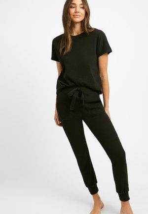 ABBEY - Pantaloni sportivi - z noir