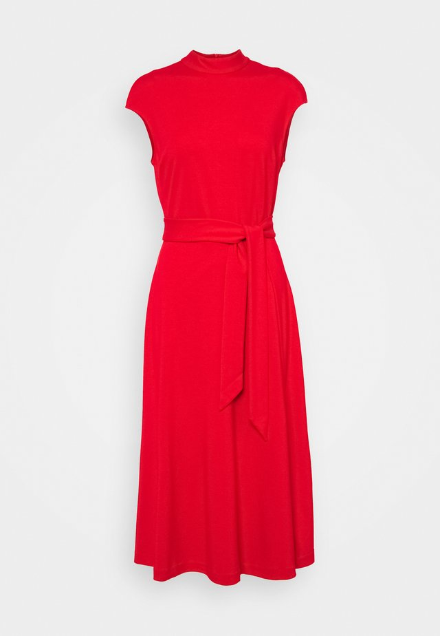 DRESSELLA - Žerzejové šaty - open pink