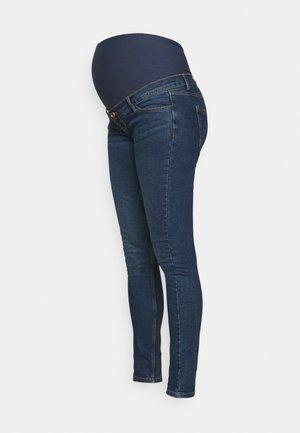 PCMKESIA - Jeans Skinny Fit - dark blue denim