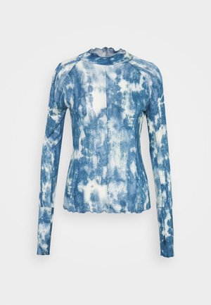 PRINTED HIGH JUMP - Long sleeved top - sky