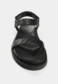 Bershka - Sandales à plateforme - black - 4