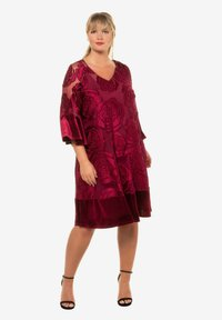 Ulla Popken - Day dress - bright berry - 0