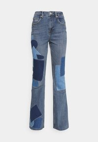 BDG Urban Outfitters - RIP AND REPAIR - Flared jeans - mid vintage - 5