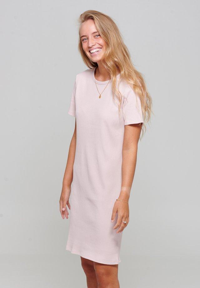 VIVA - Jumper dress - rose
