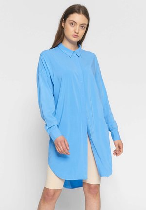 SRFREEDOM - Button-down blouse - turquoise
