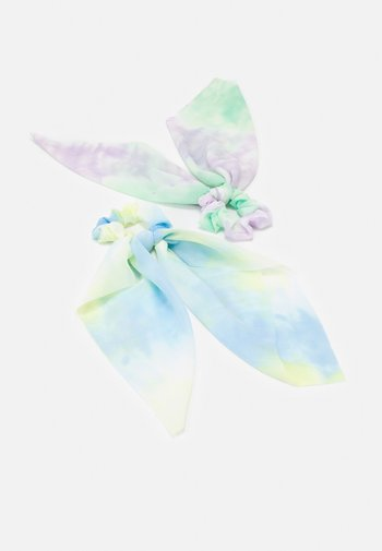 FGTIE BOW SCRUNCHIE 2 PACK