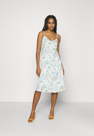 STRAP MIDI DRESS - Day dress - multi-coloured