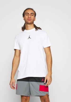 DRY AIR - Camiseta básica - white/black