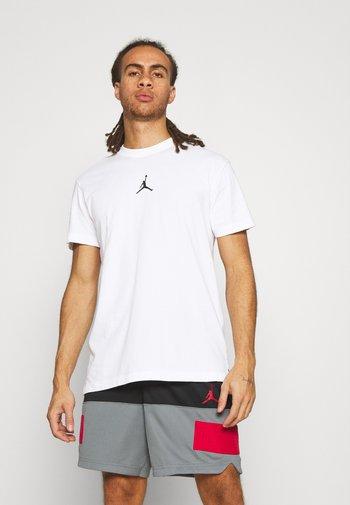 DRY AIR - T-shirt - bas - white/black