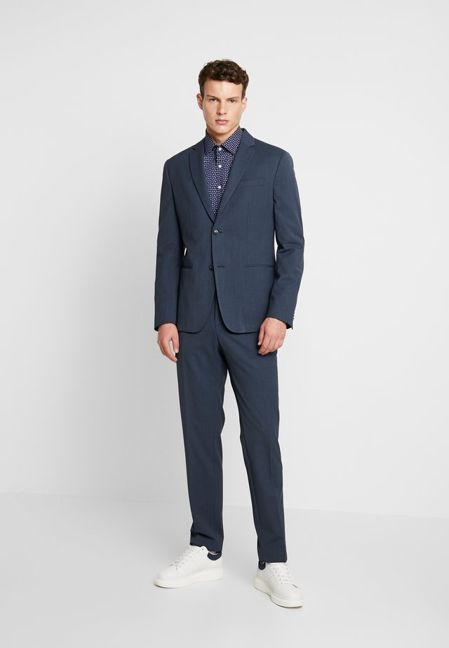 SOLID TWILL BI-STRETCH - Oblek - blue