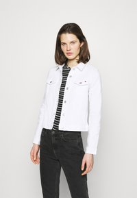 Tommy Hilfiger - JACKET - Denim jacket - white - 0