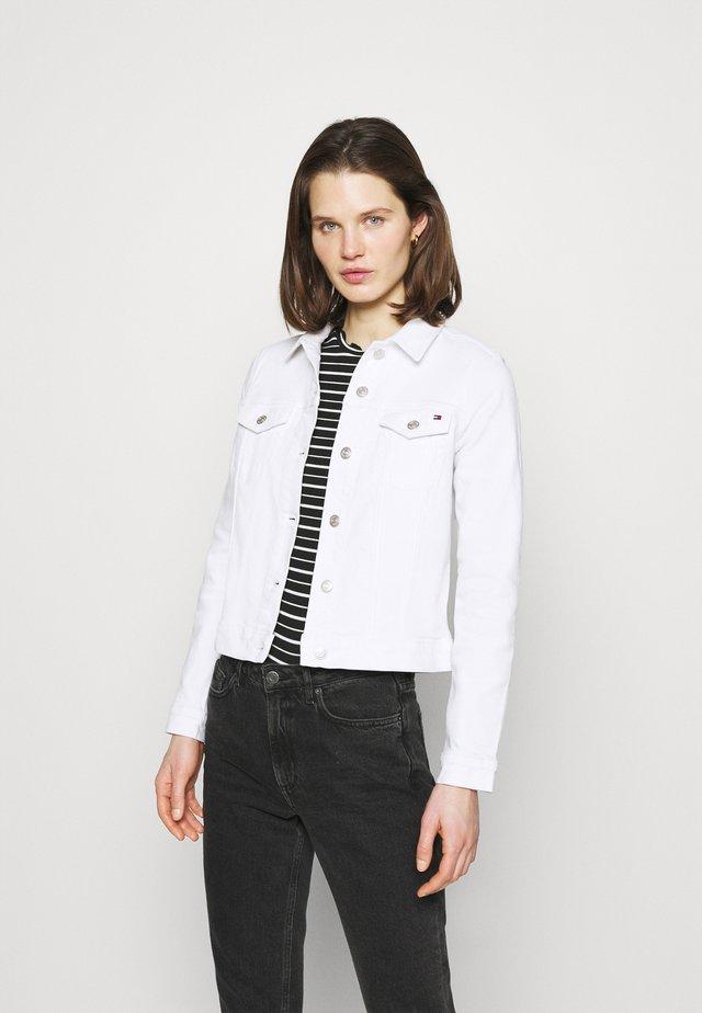 JACKET - Kurtka jeansowa - white