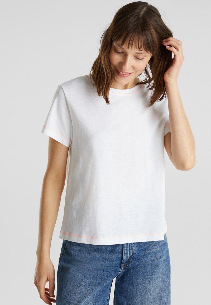 edc by Esprit - T-shirt basic - white