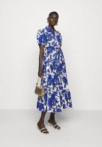 Diane von Furstenberg - QUEENA - Shirt dress - blue - 1