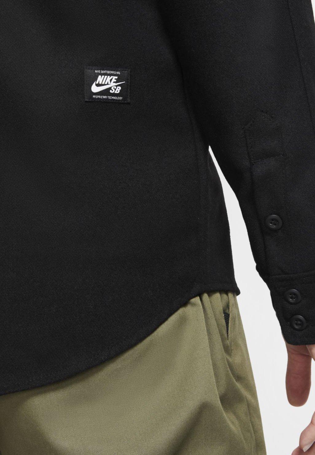 Nike SB Chemise - black/noir - ZALANDO.FR