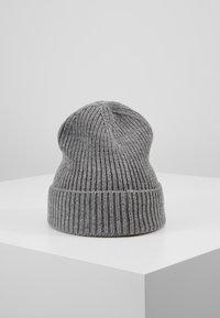 The North Face - LOGO BOX CUFFED BEANIE UNISEX - Beanie - medium grey heather - 2