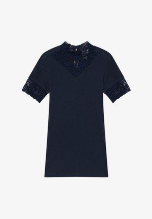 TEE - Print T-shirt - navy blazer