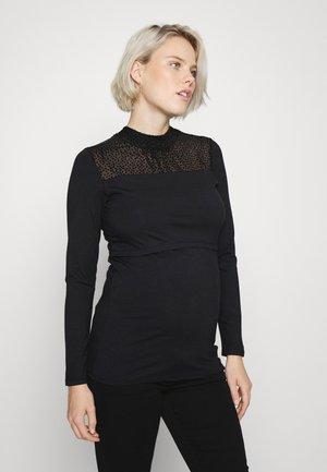 Joliet - Still-Shirt - Pitkähihainen paita - black
