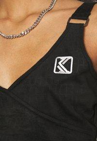 Karl Kani - CROP - Top - black - 4