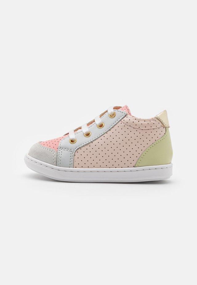 BOUBA ZIP BOX - Sneakersy wysokie - multicolor pastel