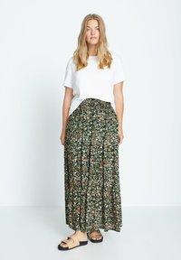 Violeta by Mango - SUMMER - A-line skirt - grün - 1