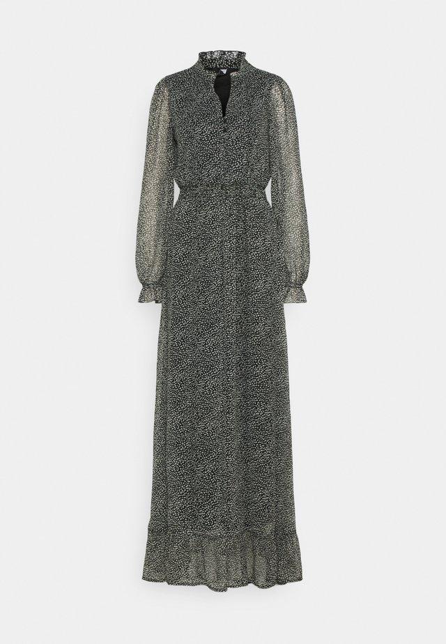 VMHIBISCUS SMOCK MAXI DRESS TALL - Maxi dress - black