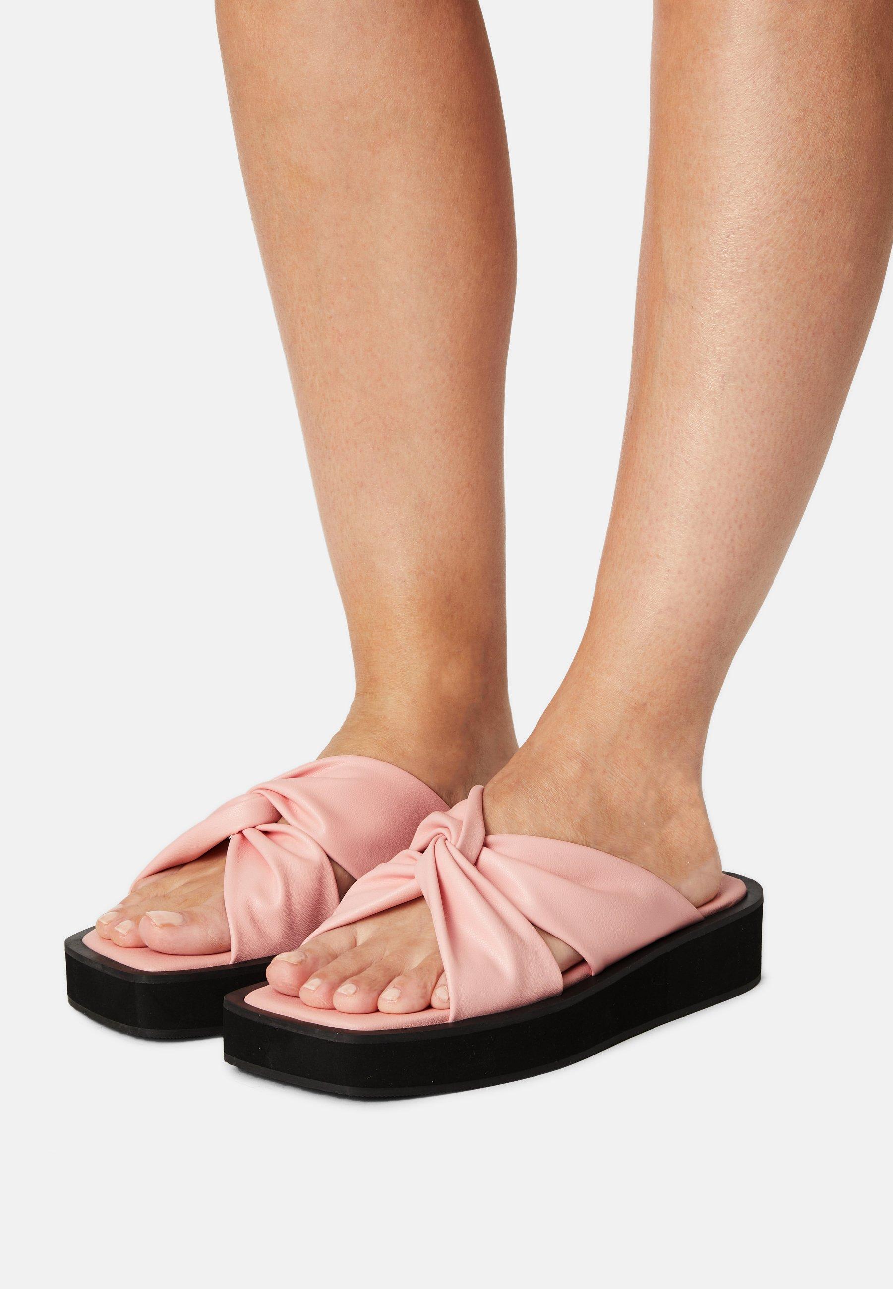 Women Mules - pink dusty light