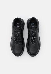 LÄST - SPRINT - Sneakers laag - black - 5