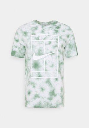 TEE HERITAGE DYE - T-shirt print - white/steam