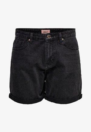 JEANSSHORTS REGULAR FIT - Jeansshort - black