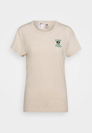 WELLTHREAD PERFECT TEE - Camiseta básica - sand